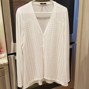 Womens Spense White XL cardigan